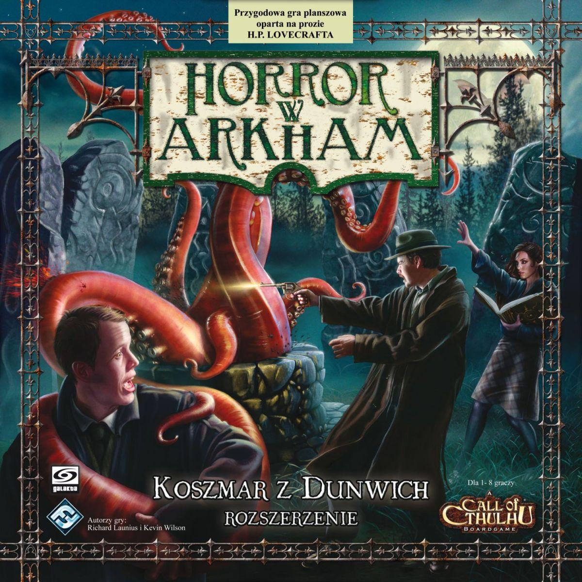 Horror w Arkham: Koszmar z Dunwich - recenzja