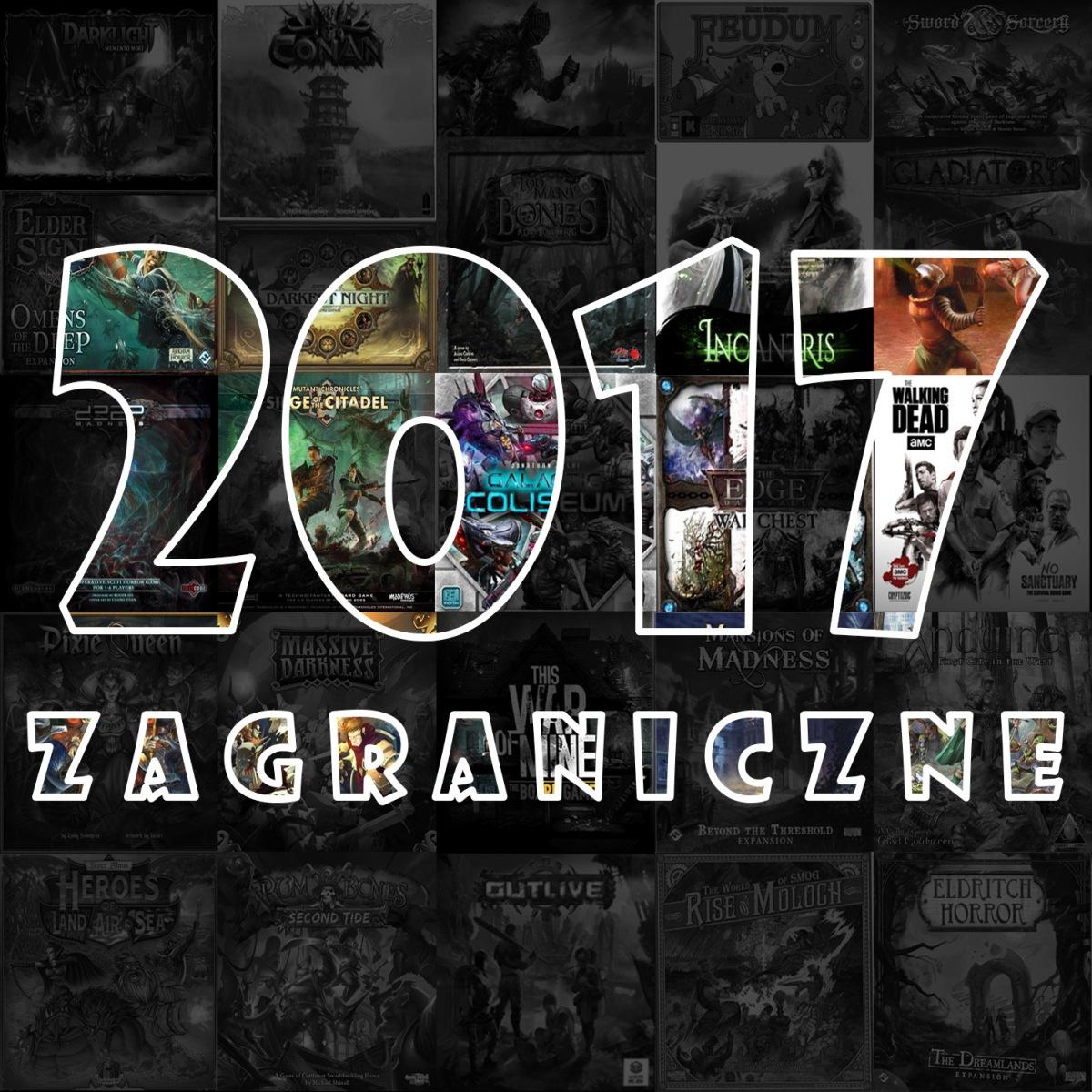 Premiery gier w 2017 r.: wydania zagraniczne (gry planszowe) cz. 1